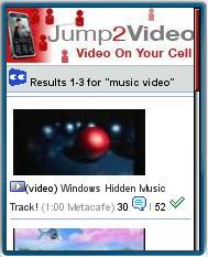 Jump2Video Mobile Videos