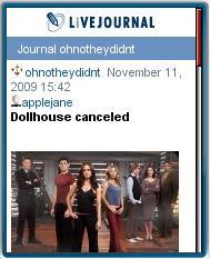 ONTD - Live Journal Mobile
