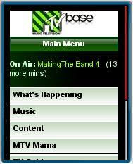 MTV Base Mobile Site