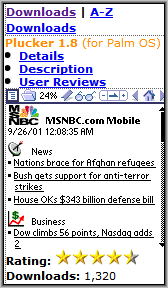 MyTreo Downloads