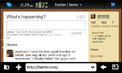 N900 - Twitter