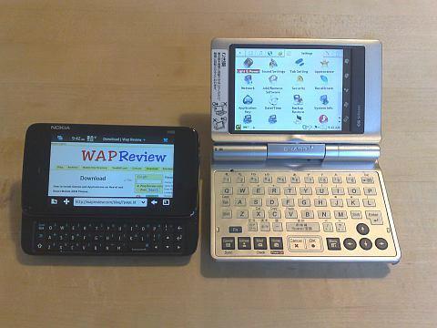 N900 and Zaurus C860