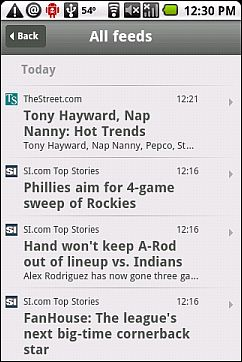 NetVibes Android