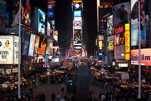 Times Square, NYC by 24gotham