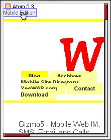 Wapreview PC version in Opera Mini