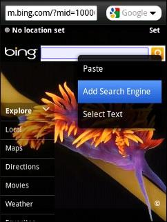 Opera Mini 5 Touch Add Search 1