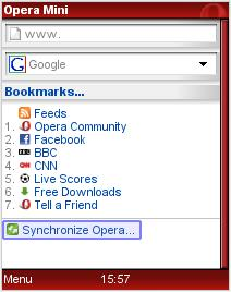 Opera Link - Synchronize Opera Mini