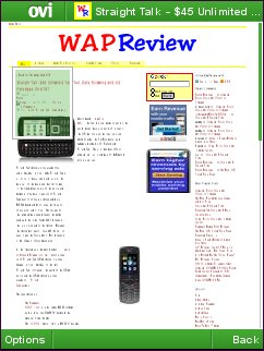 Ovi Browser, First Look – With Download Links | Wap Review