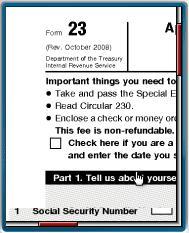 Tax Form in Online PDF Viewer