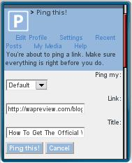 Ping this! Bookmarklet