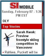 Sports   Illustrated Mobile  - Olympics 2010