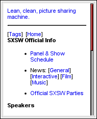 South By Southwest Mobile Companion