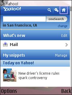 Yahoo - New Mobile Portal