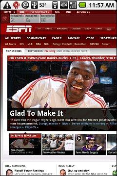 Skfire Android - ESPN