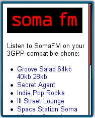 Soma fm Mobile