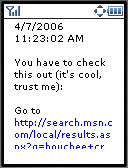 Spaces blog item page