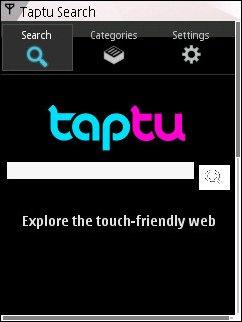 Taptu Homepage