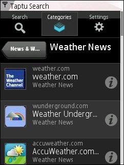 Taptu Weather