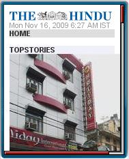 The Hindu Mobile Site