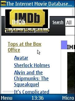 UCWEB 7 - IMDb Zoomed In