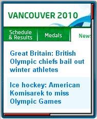 Vancouver  2010 Mobile