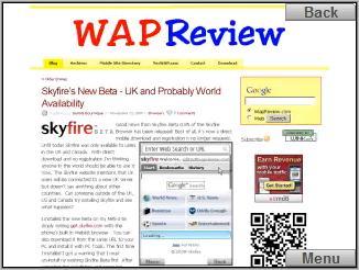 Skyfire browser - wapreview.com
