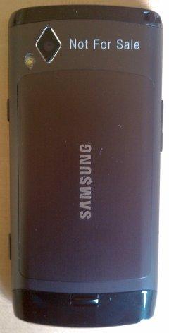 Samsung Wave - Back