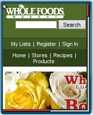 Whole Foods Mobile