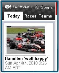 Yahoo! Formula 1