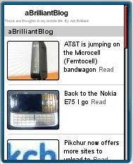 ABrilliantBlog Mobilized by Mippin