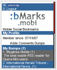 :bMarks