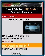 CARtoday - Mobile Web Magazine