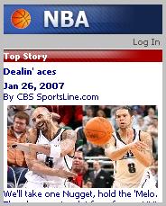 CBS Sportsline Mobile