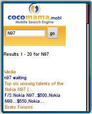 Cocomama Mobile Search