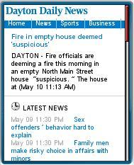 Daytom Daily News Mobile