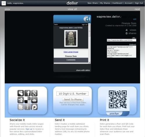 Delivr Web Creator