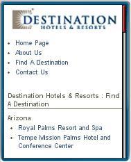 Destination Hotels Mobile
