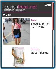 fashionfreax Mobile Website