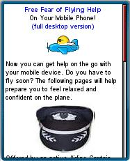Fear of Flying Help Mobile Web Site