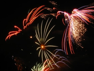 Carnival Fireworks Image