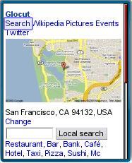 Glocut Local Mobile Search