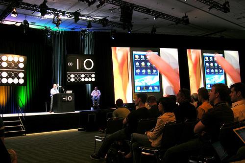 Android Demo at Google I/O