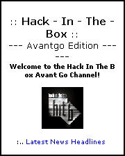 Hack in the Box Home page