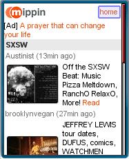 Mippin's SXSW Page
