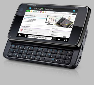 Nokia N900 Keyboard and Browser