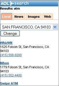 AOL Windows Mobile Version