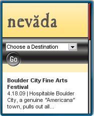 Nevada Tourism Mobile Site