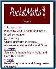 Pocket Malta Mobile Guide