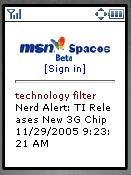 img. MSN Spaces