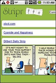 Stripr - Mobile Comics